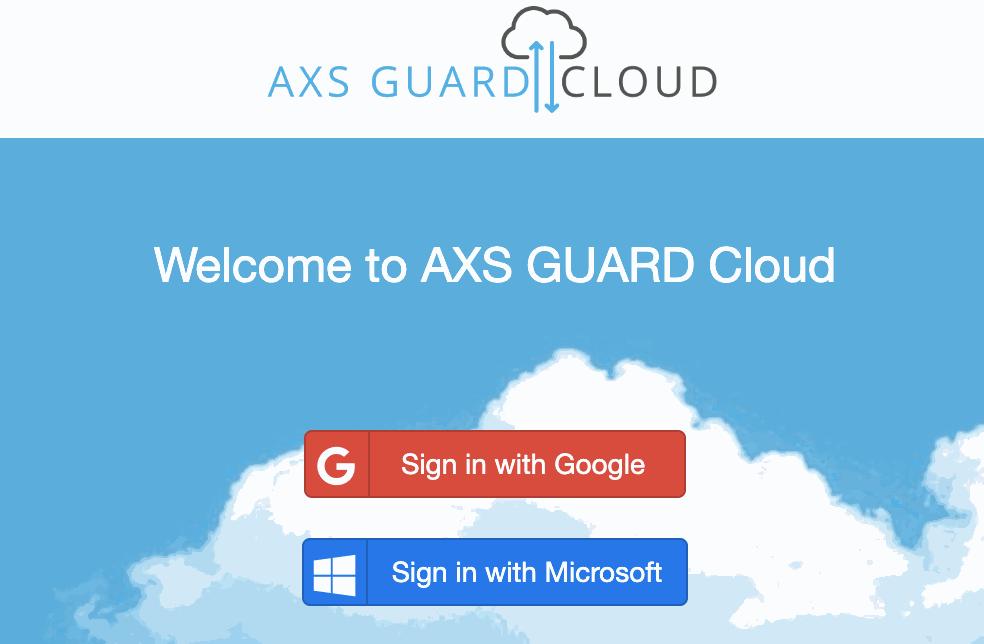 AXS Guard Cloud